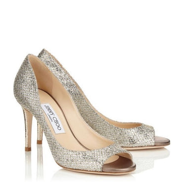 Evelyn Pump 85mm - Champagne