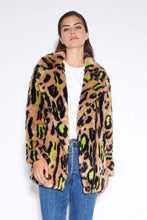 Load image into Gallery viewer, Chloe Jacket - Leopard Neon
