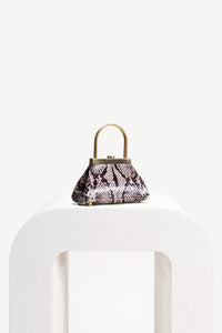 Estelle Mini Bag - Faux Snake
