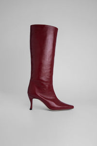 Steve 42 Boot - Bordeaux Creased Leather