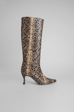 Steve 42 Boot - Snake Print Leather
