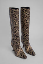 Load image into Gallery viewer, Steve 42 Boot - Snake Print Leather