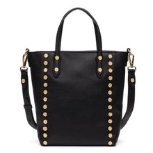 Load image into Gallery viewer, Daisy Messenger Tote - Black