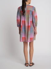 Load image into Gallery viewer, Oversized Kaftan - Turquoise Illusion
