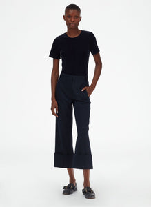 Luka Suiting Cuffed Pant - Midnight Navy