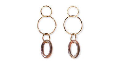 Lake City Earring - Abalone