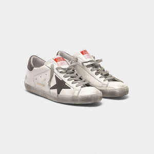 Men's Superstar Sneakers - White/Gray Nubuck