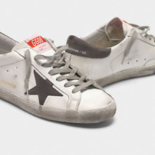 Load image into Gallery viewer, Men's Superstar Sneakers - White/Gray Nubuck