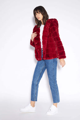 Goldie Jacket - Ruby Red