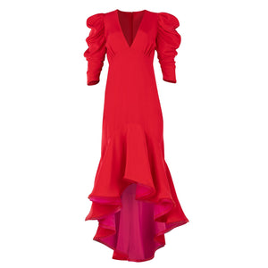 Gorel Dress - Candy Red