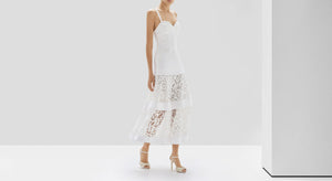 Harlowe Dress - White