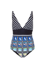 Load image into Gallery viewer, Ibiza Swimsuit - Postage Stamps