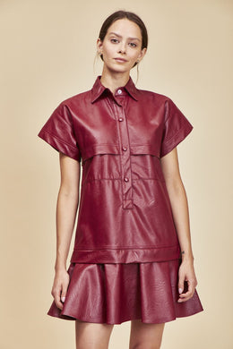 Addison Dress - Redwood