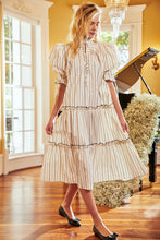 Load image into Gallery viewer, Holloway Dress - Modern Stripe