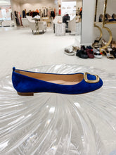 Load image into Gallery viewer, Vedette Flat - Lapis Suede
