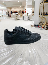 Load image into Gallery viewer, Replica Sneaker - Black Glitter