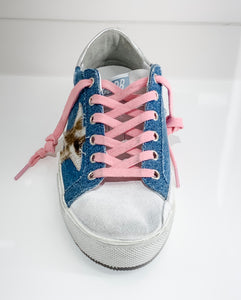 Superstar Sneaker - Light Blue Denim