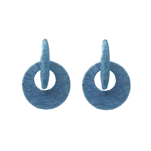 Carmen Earring - Sailor Blue