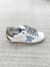 Load image into Gallery viewer, Superstar Sneaker - White, Gold, Blue