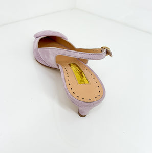 Misty Pump 30 mm - Lavender Suede