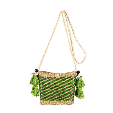 Maxime Basket Bag - Green