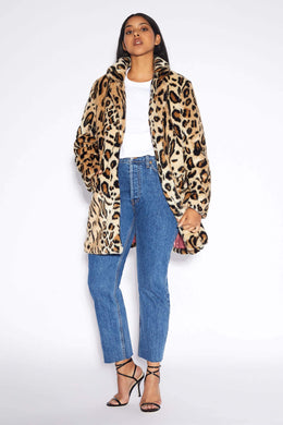 Margot Coat - Leopard