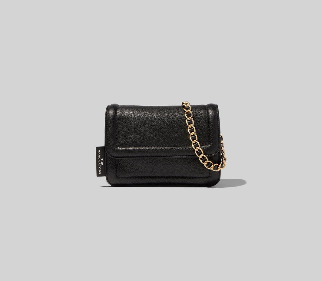 The Mini Cushion Bag - Black