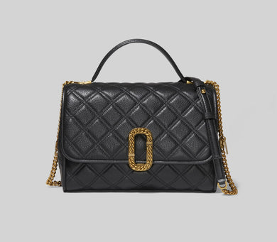 The Status Top Handle Bag - Black