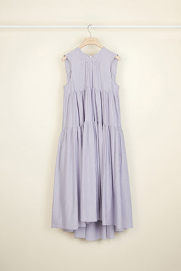 Flared Volume Dress - Biarritz