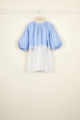 Communion Top - Blue