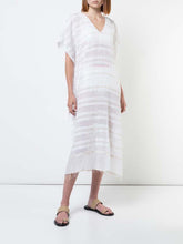 Load image into Gallery viewer, Kelali Caftan - White