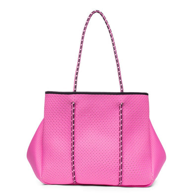 Sporty Spice Neoprene Tote - Rose