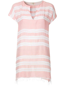 Doro Tunic Dress - Light Coral