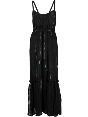 Tikuri Sundress - Black/White