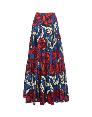 Big Skirt - Big Blooms Print