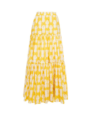 Big Skirt - Pineapple Print