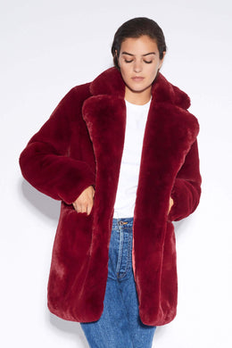 Sophie Coat - Ruby Red