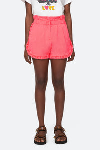 Ruffle Acid Shorts - More Colors Available