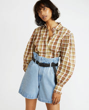 Load image into Gallery viewer, Marcelle Blouse - Plaid