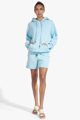 Hooded Sweatshirt - French Blue