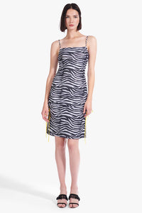 Raze Dress - Zebra Print