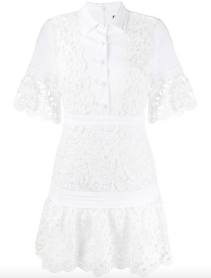 Liberty Dress - White