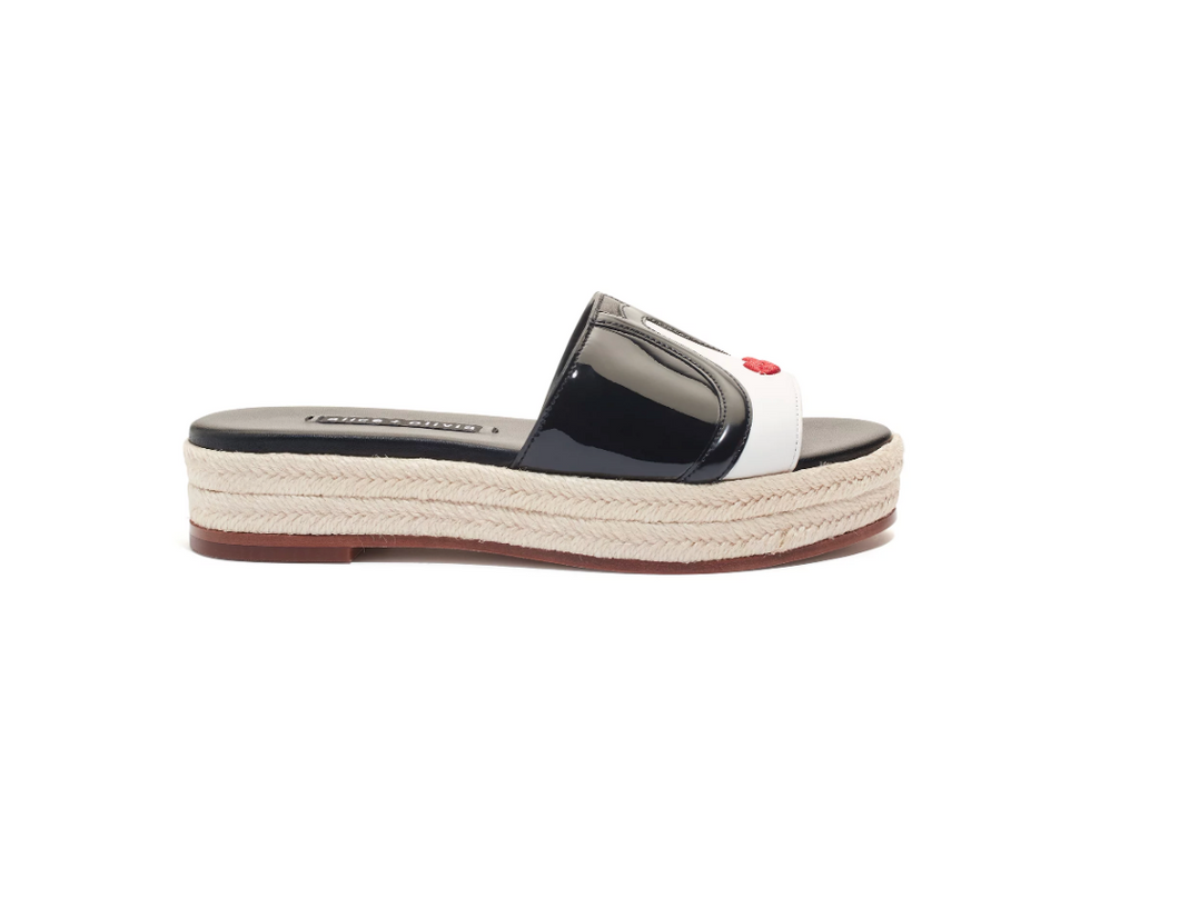 Keko Stace Face Platform Slide