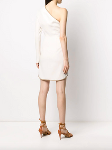 Dianna One-Shoulder Mini Dress - White