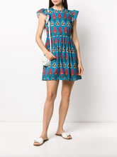 Load image into Gallery viewer, Tulip Mini Dress - Blue