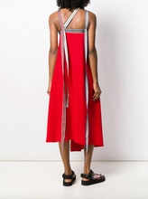 Load image into Gallery viewer, Halter Neck Tie Dress - Red