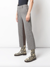 Load image into Gallery viewer, Deconstructed Two-tone Trousers - Camel