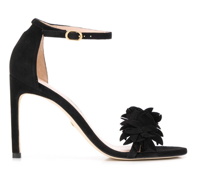 Nudistsong Flower Heel - Black