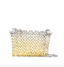 Load image into Gallery viewer, Nano Iconic 1969 Chainmail Bag - Silver/Gold