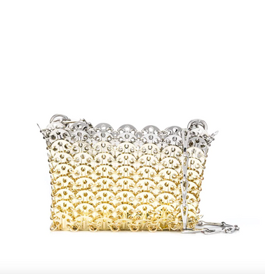 Nano Iconic 1969 Chainmail Bag - Silver/Gold